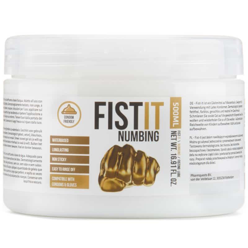 Fist It Numbing Bedøvende Glidecreme 500 ml